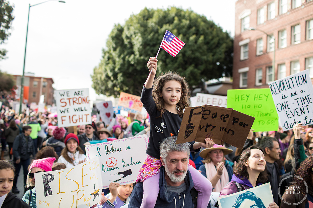 Women's March | Oakland, CA <br /> January 21, 2017<br /> 60,000+ People in Oakland<br /> 2.6 million people worldwide <br /> <br /> Drew Bird Photography<br /> San Francisco Bay Area Photographer<br /> Have Camera. Will Travel. <br /> <br /> www.drewbirdphoto.com<br /> drew@drewbirdphoto.com