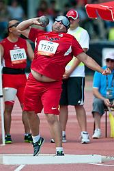 TARAZON Jorge, USA, Shot Put, F11, 2013 IPC Athletics World Championships, Lyon, France