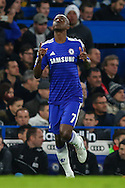 Ramires of Chelsea come onto the pitch as a substitute during the Capital One Cup Semi Final 2nd Leg match between Chelsea and Liverpool at Stamford Bridge, London, England on 27 January 2015. Photo by David Horn.
