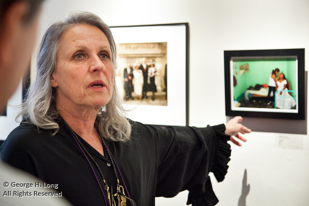 "Sylvia Plachy walks and talks about the ""Forever Hold Your Peace"" exhibit at the New Orleans Photo Alliance gallery"