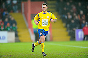 Accrington Stanley's Billy Kee during the Sky Bet League 2 match between Exeter City and Accrington Stanley at St James' Park, Exeter, England on 23 January 2016. Photo by Graham Hunt.