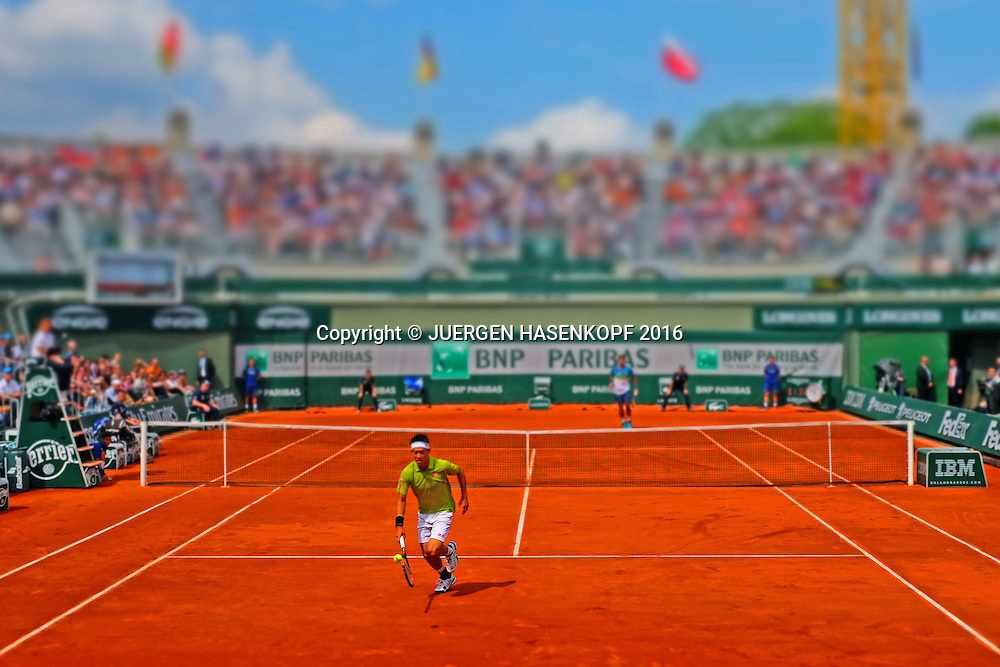 Kei Nishikori (JPN)<br /> <br /> Tennis - French Open 2016 - Grand Slam ITF / ATP / WTA -  Roland Garros - Paris -  - France  - 27 May 2016.