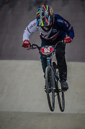 Cruiser - 15 & 16 Men #98 (MANSI Luca) GBR during practice at the 2018 UCI BMX World Championships in Baku, Azerbaijan.