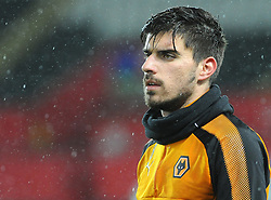 Ruben Neves of Wolverhampton Wanderers looks on -Mandatory by-line: Nizaam Jones/JMP- 17/01/2018 - FOOTBALL - Liberty Stadium- Swansea, Wales - Swansea City v Wolverhampton Wanderers - Emirates FA Cup third round proper