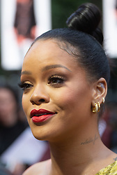 Rihanna (Nine Ball) at the London Premiere of Oceans 8 in Leicester Square. London, June 15 2018.