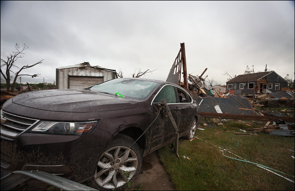 One of Montana's largest most destructive tornado rated EF-3 caused major destruction in the town of Baker, Montana.