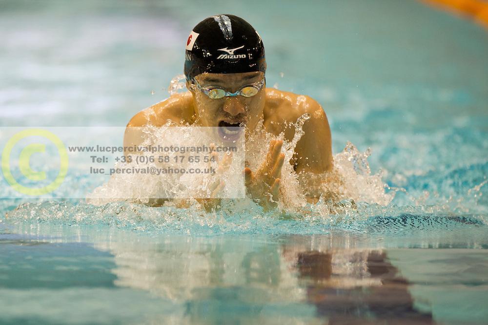 JPN, TANAKA Yasuhiro (SB14)  at 2015 IPC Swimming World Championships -  Men's 100m Breaststroke SB14