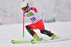SUN Hongsheng, LW5/7-1, CHN, Men's Giant Slalom at the WPAS_2019 Alpine Skiing World Championships, Kranjska Gora, Slovenia