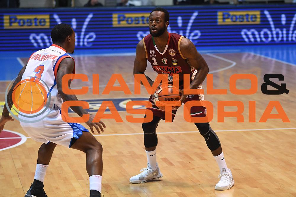 Dominique Johnson<br /> Red October Cantu - Umana Reyer Venezia<br /> LegaBasket Serie A 2017/2018<br /> Desio, 11/11/2017<br /> Foto M.Ceretti / Ciamillo-Castoria