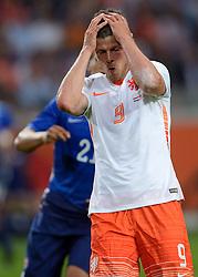 05-06-2015 NED: Oefeninterland Nederland - USA, Amsterdam<br /> Oranje verliest oefeninterland tegen Verenigde Staten met 4-3 / Klaas-Jan Huntelaar #9