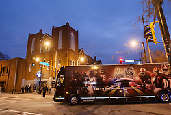 The Alabama Crimson Tide and the Washington Huskies visit Historic Ebenezer Baptist Church, spiritual home to Dr. Martin Luther King, Jr., on December 27, 2016 in Atlanta. Alabama faces Washington in the 2016 Chick-fil-A Peach Bowl Playoff Semifinal on New Year's Eve, with the winner advancing to the National Championship. (Jason Parkhurst / Abell Images for the Chick-fil-A Peach Bowl)