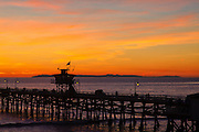 Catalina and the San Clemente Pier
