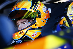 March 3, 2017 - Hampton, Georgia, United States of America - March 03, 2017 - Hampton, Georgia, USA: Ricky Stenhouse Jr. (17) hangs out in the garage prior to practice for the Folds of Honor QuikTrip 500 at Atlanta Motor Speedway in Hampton, Georgia. (Credit Image: © Justin R. Noe Asp Inc/ASP via ZUMA Wire)