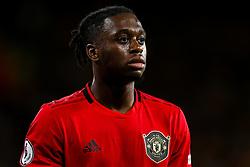 Aaron Wan-Bissaka of Manchester United - Mandatory by-line: Robbie Stephenson/JMP - 19/08/2019 - FOOTBALL - Molineux - Wolverhampton, England - Wolverhampton Wanderers v Manchester United - Premier League