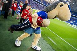 15.10.2011, Veltins Arena, Gelsenkirchen, GER, 1. FBL, FC Schalke 04 vs. 1. FC Kaiserslautern, im Bild Schalke Maskottchen // during FC Schalke 04 vs. 1. FC Kaiserslautern at Veltins Arena, Gelsenkirchen, GER, 2011-10-15. EXPA Pictures © 2011, PhotoCredit: EXPA/ nph/  Kurth       ****** out of GER / CRO  / BEL ******
