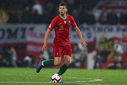 November 20, 2018 - Guimaraes, Guimaraes, Portugal - Ruben Dias defender of Portugal in action during the UEFA Nations League football match between Portugal and Poland at the Dao Afonso Henriques stadium in Guimaraes on November 20, 2018. (Credit Image: © Dpi/NurPhoto via ZUMA Press)