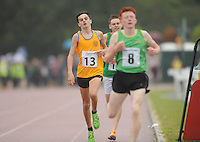 21 Aug 2016:  Ben Deasy (13), from Clare, finishing 2nd in the Boys U16 1500m final.  2016 Community Games National Festival 2016.  Athlone Institute of Technology, Athlone, Co. Westmeath. Picture: Caroline Quinn