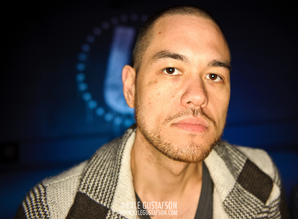 Washington, D.C. (March 17, 2010) - DJ Jesse Tittsworth at the opening night of his new dance club, U Street Music Hall. (Photo by Kyle Gustafson)