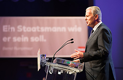 07.04.2016, Congress, Innsbruck, AUT, Wahlkampfauftakt Andreas Khol zur Präsidentschaftswahl 2016, im Bild ÖVP Vizekanzler Reinhold Mitterlehner // ÖVP Vice Chancellor Reinhold Mitterlehner during campaign opening according to the austrian presidential elections at the Congress in Innsbruck, Austria on 2016/04/07. EXPA Pictures © 2016, PhotoCredit: EXPA/ Johann Groder