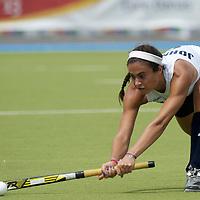 MONCHENGLADBACH - Junior World Cup<br /> Pool A: The Netherlands - USA<br /> photo: Aileen Johnson.<br /> COPYRIGHT FRANK UIJLENBROEK FFU PRESS AGENCY