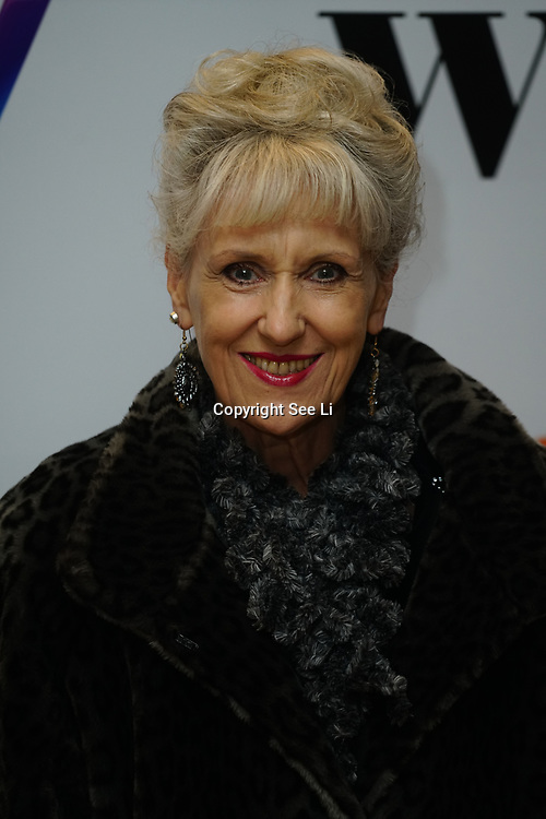 London Hilton, Park lane, England, UK. 1st December 2017. Anita Dobson attends the Sky Women in Film and TV Awards.