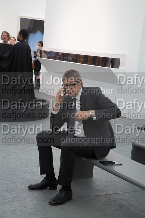 JAY JOPLING, The VIP preview of Frieze. Regent's Park. London. 16 October 2013