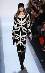 FEB 09 2013 Herve Leger show at New York Fashion Week A/W 13