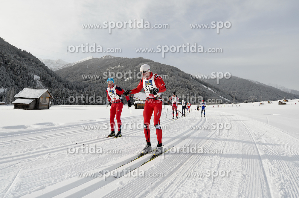 21.01.2012, Loipe Obertilliach, AUT, 38. Dolomitenlauf, Classicrace, im Bild Langlauf Feature, EXPA Pictures © 2012, PhotoCredit: EXPA/ M. Gruber