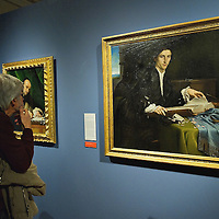 at Accademia Gallery on November 23, 2011 in Venice, Italy.