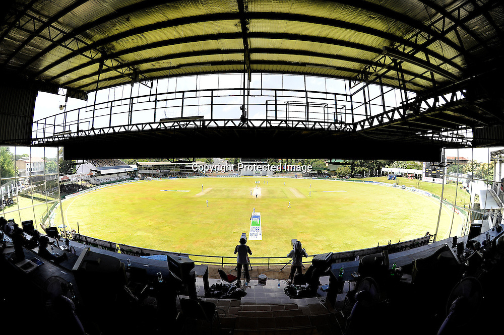 General view during day 3 of the 2nd test between Sri Lanka and the New Zealand Black Caps, at the Sinhalese Sports Club Ground, Colombo, Sri Lanka, 28 August 2009. Photo: Thusith Wijedoru / PHOTOSPORT