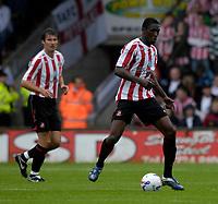 Photo: Jed Wee/Sportsbeat Images.<br /> Scunthorpe United v Sunderland. Pre Season Friendly. 21/07/2007.<br /> <br /> Sunderland's Dickson Etuhu.