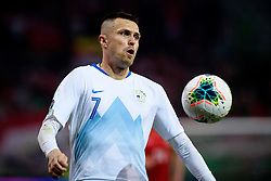Josip Iličić of Slovenia during the 2020 UEFA European Championships group G qualifying match between Slovenia and Austria at SRC Stozice on October 13, 2019 in Ljubljana, Slovenia. Photo by Sasa Pahic Szabo / Sportida