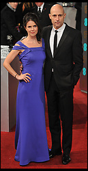 Mark Strong with Liza Marshall during The British Academy Film Awards, The Royal Opera House, Bow Street, Covent Garden, London, WC2, Sunday February 10, 2013. Photo by Andrew Parsons / i-Images. ..