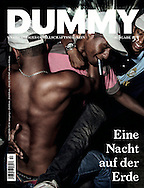 Dummy Magazin n&deg;53 &quot;Ein Nacht auf der Erde&quot;. Cover and portfolio titled &quot;Funk you&quot;.<br />