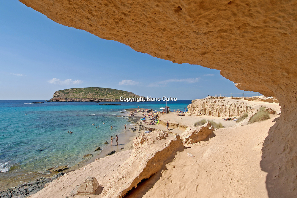 Cala Conta (Platjes de ses Comptes), Ibiza