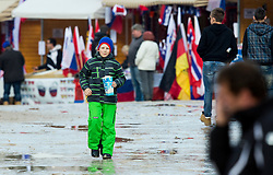 Mood during the Ski Flying Individual Qualification at Day 1 of FIS World Cup Ski Jumping Final, on March 19, 2015 in Planica, Slovenia. Photo by Vid Ponikvar / Sportida