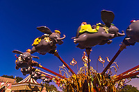 Dumbo the Flying Elephant ride,Disney World, Orlando, Florida USA