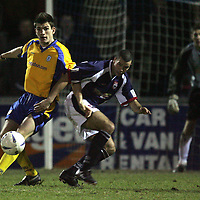 Ross Cty v St Johnstone..03.01.05<br />Sean Webb and Jim Lauchlan<br /><br />Picture by Graeme Hart.<br />Copyright Perthshire Picture Agency<br />Tel: 01738 623350  Mobile: 07990 594431