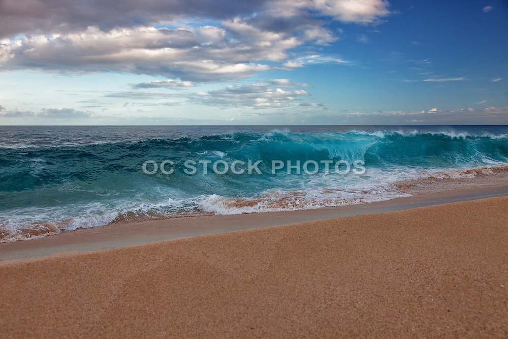 Crashing Waves on the Shoreline