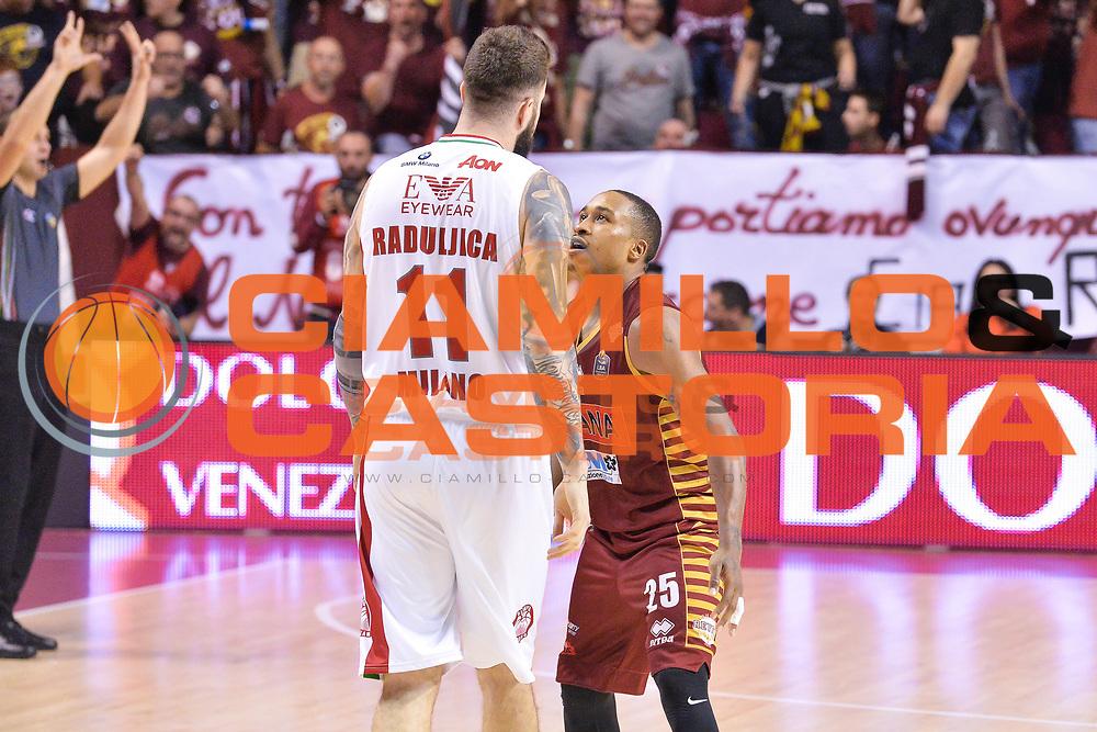 Tyrus McGee<br /> Umana Reyer Venezia - EA7 Emporio Armani Milano<br /> Lega Basket Serie A 2016/2017<br /> Venezia 11/12/2016<br /> Foto Ciamillo-Castoria