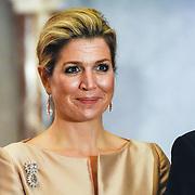 NLD/Amsterdam/20151125 - Koning Willem Alexander reikt Erasmusprijs 2015 uit, Koningin Maxima