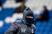 Crystal Palace #23 Pape Souaré during the warm up at The FA Cup 3rd round match between Brighton and Hove Albion and Crystal Palace at the American Express Community Stadium, Brighton and Hove, England on 8 January 2018. Photo by Sebastian Frej.