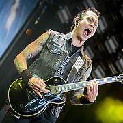 Trivium at Mayhem Festival in Bristow, VA on  August 3, 2014