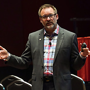 """Cardinal Health RBC 2017 Continuing Education. Dr Jeff Goad (Chapman Univ) """"APhA Pharmacy Based Travel Health Services"""". Photo by Alabastro Photography."""