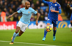 Fabian Delph of Manchester City - Mandatory by-line: Alex James/JMP - 18/11/2017 - FOOTBALL - King Power Stadium - Leicester, England - Leicester City v Manchester City - Premier League