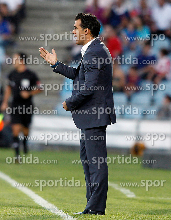 15.09.2012, Coliseum Alfonso Perez, Getafe, ESP, Primera Division, FC Getafe vs FC Barcelona, 04. Runde, im Bild Getafe's coach Luis Garcia // during the Spanish Primera Division 04th round match between Getafe CF and Barcelona FC at the Coliseum Alfonso Perez, Getafe, Spain on 2012/09/15. EXPA Pictures © 2012, PhotoCredit: EXPA/ Alterphotos/ Acero..***** ATTENTION - OUT OF ESP and SUI *****