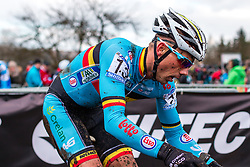 Sven Nys (BEL), Men Elite, Cyclo-cross World Championship Tabor, Czech Republic, 1 February 2015, Photo by Pim Nijland / PelotonPhotos.com