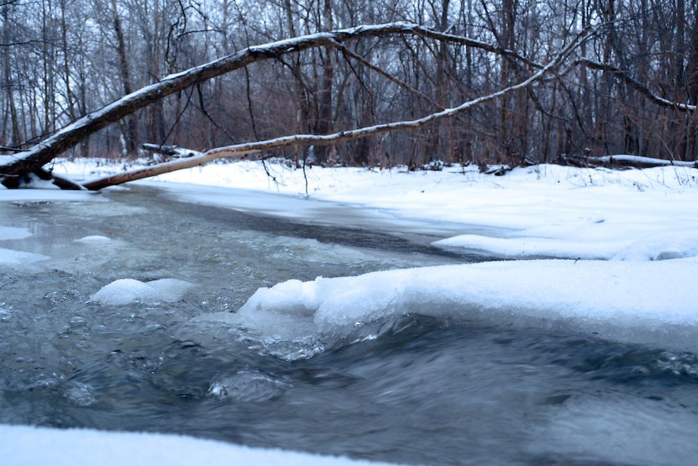 Halls Creek in winter
