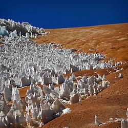 FOTÓGRAFO: Jaime Villaseca ///<br /> <br /> Glaciar en alta cordillera de Huasco.