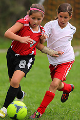October 6, 2012: Red Angels Soccer Tourney Game 1